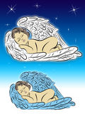 Sleeping Angel Royalty Free Stock Photos