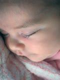 Sleeping baby Royalty Free Stock Photos