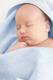 The sleeping baby Stock Photography