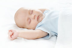 The sleeping baby Stock Photo