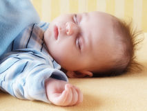 Sleeping baby Royalty Free Stock Images