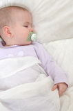 Sleeping Baby 2 Stock Photo