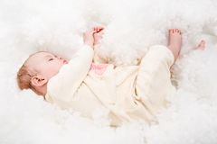 Sleeping baby Royalty Free Stock Photography