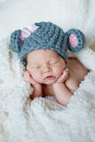 Sleeping baby Stock Images