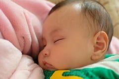 Sleeping baby Stock Image