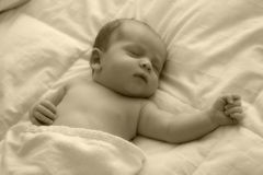 Sleeping Baby. 