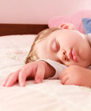 Sleeping baby Stock Image