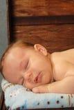 Sleeping Baby. An brand new infant fast asleep Stock Image