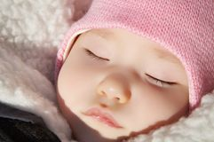 Sleeping baby Royalty Free Stock Photo