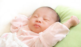 Free Sleeping Baby Royalty Free Stock Photography - 8896187