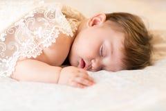 Sleeping baby child kid Stock Photos