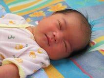 Sleeping Baby Closeup Royalty Free Stock Image