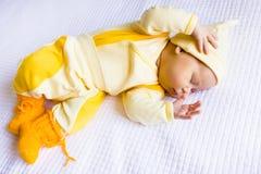 Sleeping baby Stock Photos