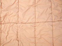 Sleeping bag. Texture or background Royalty Free Stock Photography