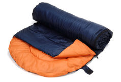 Sleeping bag Royalty Free Stock Photo
