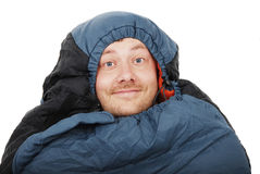 Sleeping bag Stock Photography