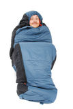 Sleeping bag royalty free stock photos