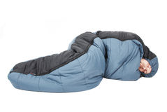 Sleeping bag Stock Photography