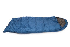 Sleeping bag Stock Images