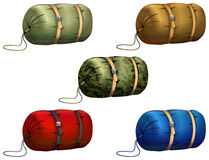 Sleeping bag Royalty Free Stock Images