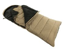Sleeping bag isolated Stock Photography