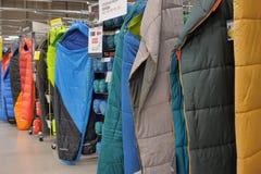 Sleeping bags Stock Image