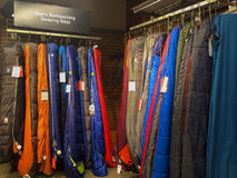 Sleeping Bags REI Eugene, OR Royalty Free Stock Photography
