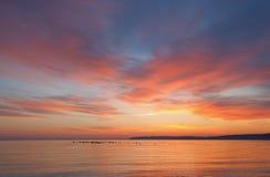 Sleeping Bear Bay at Twilight Stock Image