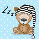 Sleeping bear Stock Photography