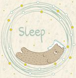 Sleeping Bear. Stock Images