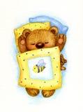Sleeping  bear. Royalty Free Stock Photos