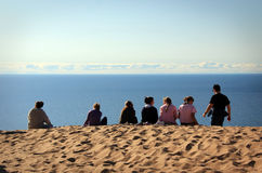 Sleeping Bear Dunes. Was recently voted the most beautiful place in America by Good Morning America (ABC News stock photos