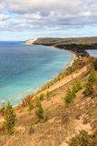 Sleeping Bear Dunes, Empire Michigan Royalty Free Stock Photo
