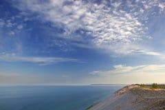 Sleeping Bear Dunes and Lake Michigan Royalty Free Stock Images