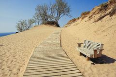 Sleeping Bear Dunes National Lakeshore Stock Photo