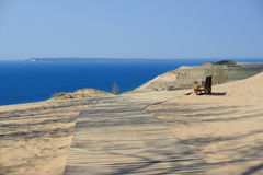 Sleeping Bear Dunes National Lakeshore Royalty Free Stock Photos