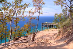 Sleeping Bear Dunes Royalty Free Stock Images