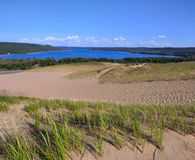 Sleeping Bear Dunes Vista Royalty Free Stock Image