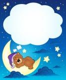Sleeping bear theme image 6 Stock Photo