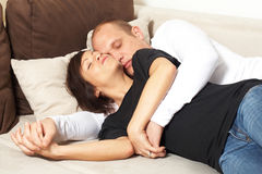 Sleeping beauties Royalty Free Stock Images