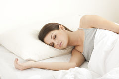 Sleeping beauty Royalty Free Stock Photography