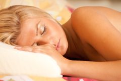 Sleeping beauty Stock Images