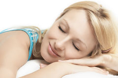 Sleeping beauty Stock Image