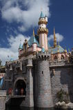Sleeping Beauty Castle Stock Photo