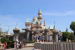 Sleeping Beauty Castle at Disneyland Royalty Free Stock Photos