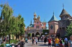 Sleeping Beauty Castle, Disneyland Royalty Free Stock Photo