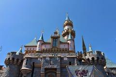 Sleeping Beauty Castle, Disneyland Royalty Free Stock Photos