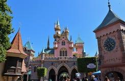 Sleeping Beauty Castle, Disneyland Stock Images
