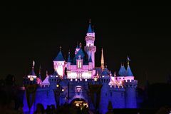 Sleeping Beauty Castle, Disneyland Royalty Free Stock Images