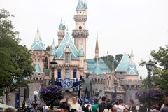 Sleeping Beauty Castle, Disneyland, California Stock Image